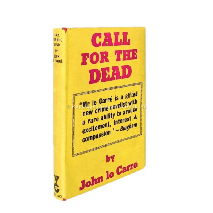 Call For the Dead Signed by John le Carré First Edition Published by Victor Gollancz 1961